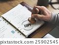 Copy Duplicate Print Scan Transcript Counterfoil Concpet 25902545