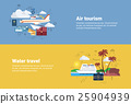 vector, airplane, tourism 25904939