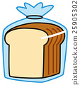 Plain bread 25905302