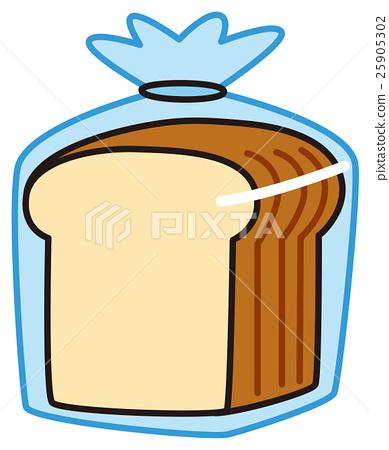 Plain bread 25905302