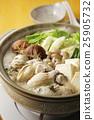 牡蠣 秋之美食 用鍋烹飪 25905732