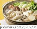 牡蛎 牡蛎火锅 平底锅 25905735