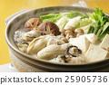 牡蛎 牡蛎火锅 平底锅 25905736