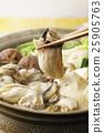 牡蠣 秋之美食 用鍋烹飪 25905763