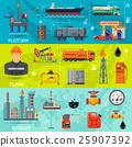 oil rig refinery 25907392