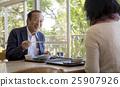 夫妇 午饭 餐馆 25907926