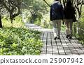 夫婦 踏青 散步 25907942