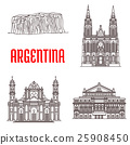 Argentina natural and architecture landmarks 25908450