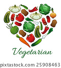 vegetable, vegetarian, vector 25908463