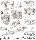New Zealand. Pictures of Life. An hand drawings. 25914432
