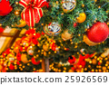 Christmas tree and decorations 25926569