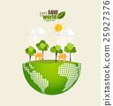 地球 土 绿色 25927376
