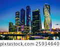 Buildings Of Moscow City Complex Of Skyscrapers At 25934640