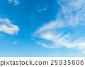blue sky with cloud 25935606