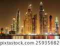 Dubai Marina bay, UAE 25935682