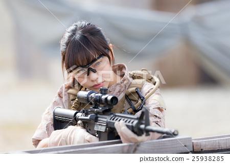 生存遊戲軍事形象 25938285