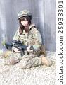 軍事 軍隊 步槍 25938301
