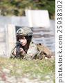 軍事 軍隊 射擊 25938302