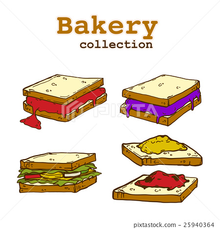 Bakery collection, food and drink, bakery elements 25940364