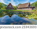 Shirakawa or Shirakawa-go in summer Season 25943693