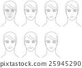 面部皮膚老化的男人 25945290