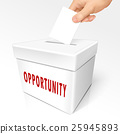 opportunity word on box 25945893