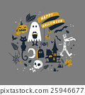 Happy Halloween illustration 25946677