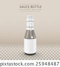 blank sauce bottle 25948487