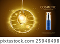 Cosmetic ads template 25948498