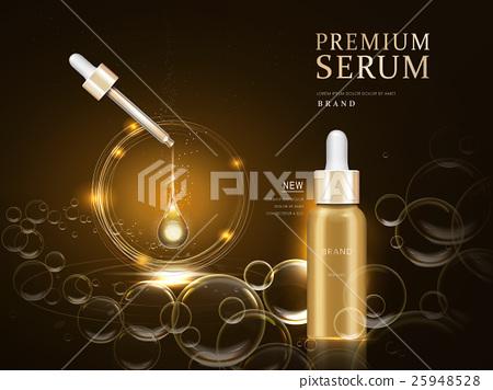 premium serum container 25948528