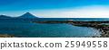 波浪 海濱 開聞岳火山 25949558