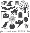 halloween, vector, icon 25954170