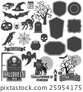 halloween, vector, icon 25954175