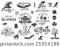 halloween, vector, icon 25954186