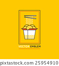 Vector chinese and asian food concepts 25954910