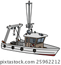 Small fishing boat 25962212