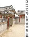 Traditional Korean palace, South Korea 25966242