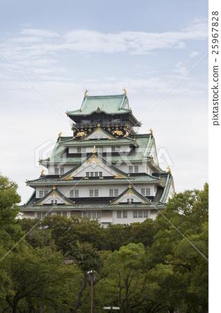 Osaka castle tower 25967828