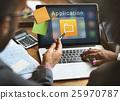 Business Digital Folder Application Concept 25970787