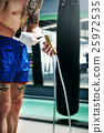 Boxer Jump Rope Training Strength Workout Concept 25972535