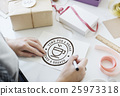 Coffee Break Tea Time Stamp Icon Graphic Concept 25973318