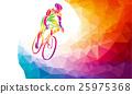 自行车 脚踏车 骑自行车的人 25975368