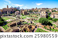 Panoramic view over the Roman Forum, Rome 25980559