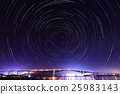 star, night scene, night scenery 25983143