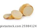 Bamboo shoots on white background 25984124