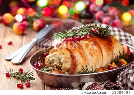 Turkey  breast for holidays. 25984397