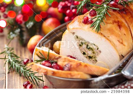 Turkey  breast for holidays. 25984398
