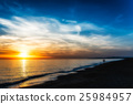 sunset over the sea 25984957