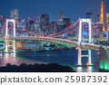 built-up area, tokyo, waterfront 25987392