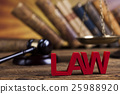 Court gavel,Law theme, mallet of judge 25988920